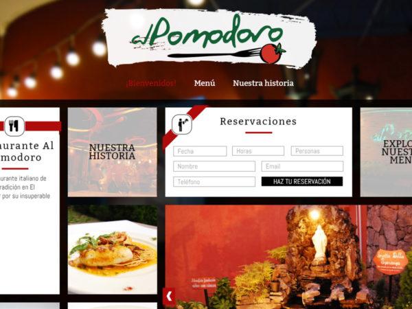 <span>Al Pomodoro – Sitio Web</span><i>→</i>