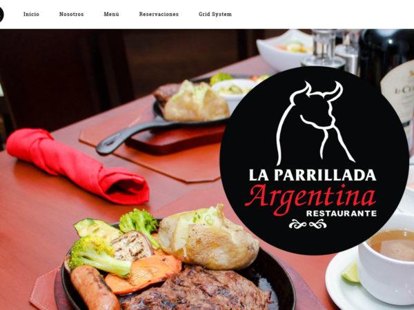 <span>La Parrillada Argentina – Sitio Web</span><i>→</i>